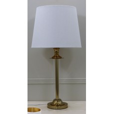 Premium Quality Classic Table Lamp with White Shade - H72