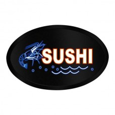 LED Sign Oval Sushi
