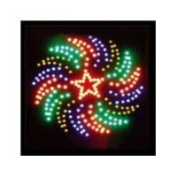 LED Sign Square Star