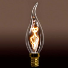 Edison Carbon Filament Candle