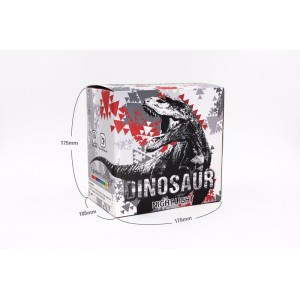 Tap Control 3D Dinosaur Bedside Night Light  LED 7 Color Changing Rechargeable Party Decoration