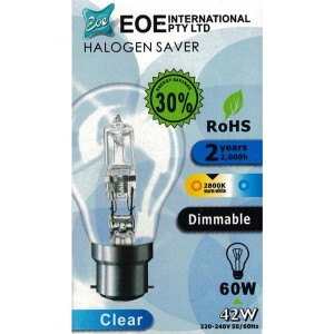 Halogen Bulb GLS Clear