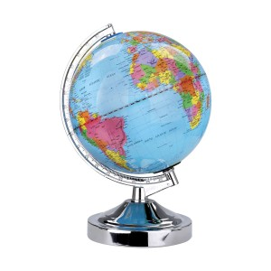 Globe Table Touch Lamp -E14-Blue