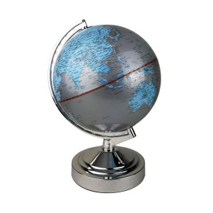 Globe Table Touch Lamp -E14-Grey