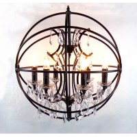 Metal Ball Luxurious Pendant Lamp 90cm