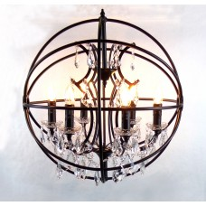 Metal Ball Luxurious Pendant Lamp 60cm
