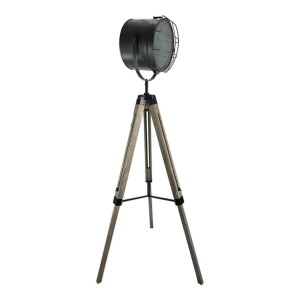 Timber Tripod Floor Lamp