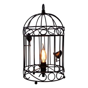 Bird Cage Table & Pendant Lamp