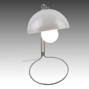 Metal Based Table Lamp White
