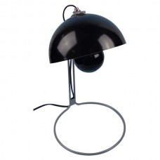 Metal Based Table Lamp Black