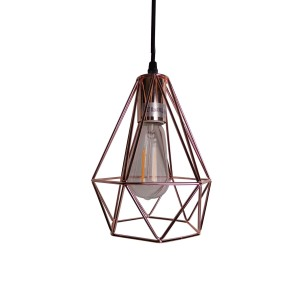 Plating Copper Pendent Light small