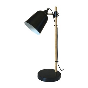 Vintage Table Lamp Black E14 Max 40W
