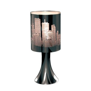 Table Touch Lamp City Skyline