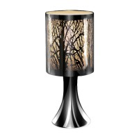Table Touch Lamp White Trees