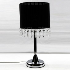 Chandelier Table Touch Lamp Black