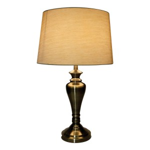 Antique Brass Table Touch Lamp
