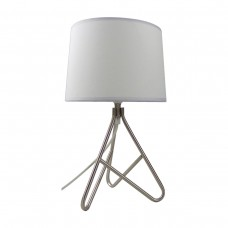 Wire Metal Based Table Lamp_White