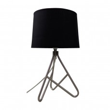 Wire Metal Based Table Lamp_Black