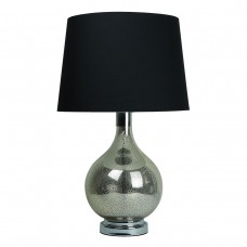 Classic Glass Table Lamp Teardrop Base B..