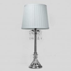 Classic Chandeleir Table Lamp White Shade