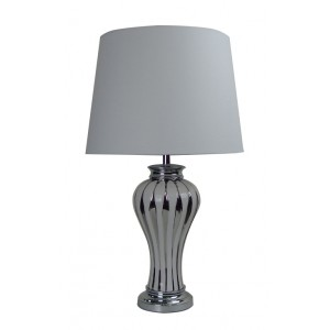 Classic Ceramic Table Lamp White Shade