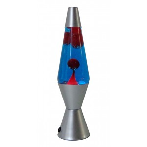 Lava Lamp Blue/Red