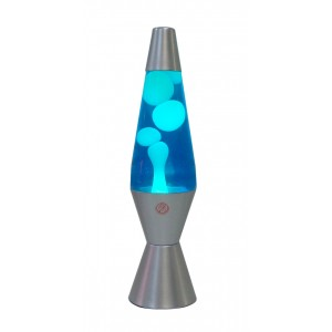 Lava Lamp Blue/White