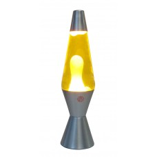 Lava Lamp Gold/White