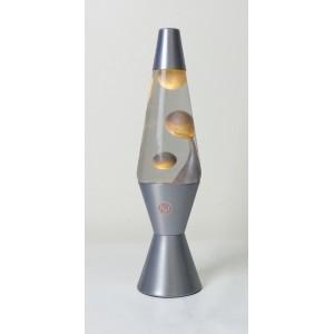 Lava Lamp Clear/Metallic Silver