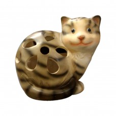 Solar Garden Light Cat